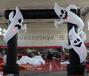 5米高黑色缠小白鬼充气门头商场夜店娱乐场所派对拱门布景气模