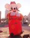 新年广场商场美陈布置道具充气鼠年老鼠卡通公仔