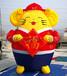 充氣老鼠氣模卡通金鼠氣模新年氣模吉祥物鼠年氣模商場美陳布景