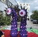 充氣眼球柱花食人花氣模叢林森林系熱帶雨林主題商場美陳裝飾裝置