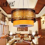 古香古色酒店吊灯酒楼灯具生产厂家酒楼灯图片大型酒店灯定制图片