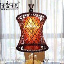 铝丝鸟笼吊灯复古鸟笼吊灯餐厅茶楼吊灯中式鸟笼灯
