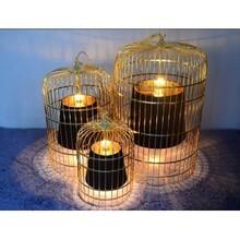 中式吊灯鸟笼灯图片鸟笼吊灯定做生产批发价格