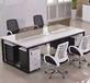 辦公桌電腦桌一對一培訓桌課桌椅職員工位大班臺會議桌茶臺