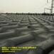 安徽滁州塑料树脂瓦厂家,仿琉璃装饰瓦批发