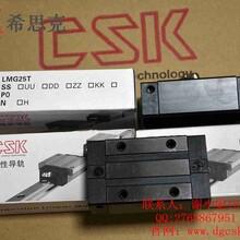 台湾CSK原装进口LMG25T标准低组装型滑块