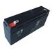 餐桌转盘电池电瓶6V3.3AH铅酸免维护蓄电池