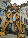 巨型变形金刚模型霸气十足,擎天柱大黄蜂壮观模型