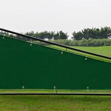 打位分隔栏高尔夫练习场分隔器球场设备分隔栏带帆布分割栏