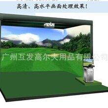韩国原装进口职业级室内模拟高尔夫室内高尔夫高尔夫模拟器练习场设备