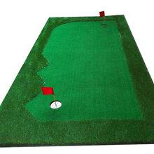 便捷式推杆果岭室内模拟高尔夫人工果岭办公室迷你练习毯练习场设备室内高尔夫