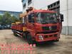国五8吨10吨12吨东风御龙货车带吊参数图片