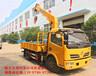 国五蓝牌东风福瑞卡5吨随车吊多少钱一辆?