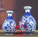 家用酒瓶精美空酒瓶青花1斤2斤3斤5斤厂家大量出售