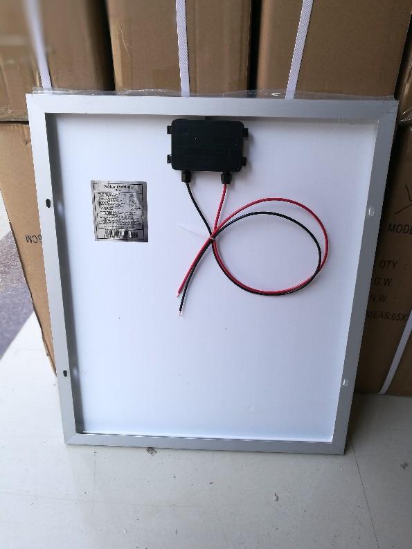 10W20W18v单晶多晶太阳能电池板用于太阳能供电系统