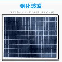 50W瓦多晶太阳能电池板156高效多晶电池片图片