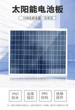 正A级60W多晶太阳能电池板组件透光率高发电量高图片
