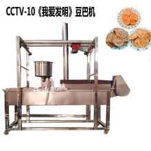 广西油炸豆饼机图片