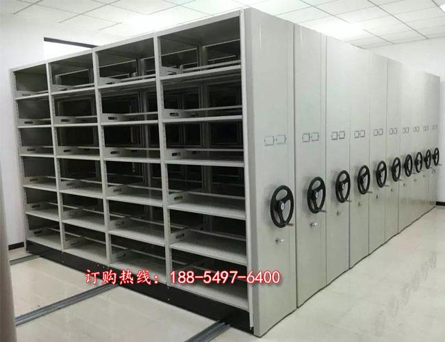 供应巨野手摇移动档案柜