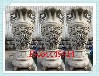 辦公場所石頭花瓶圖片銀行門口石雕花瓶加工廠