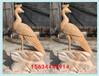 大理石孔雀石雕廠家園林景觀石刻孔雀開屏雕塑圖片及價格