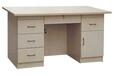 西安世杰专业生产各种办公桌钢木办公桌厂家批发定做