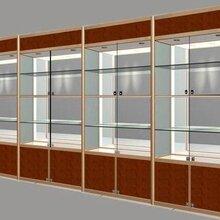 陕西展示柜玻璃展示柜手机展示架厂家定做低价出售