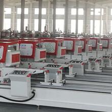 長沙做斷橋鋁門窗加工需要的設備全套斷橋鋁機器報價圖片
