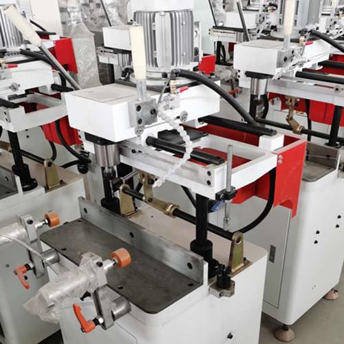奉節鋁型材雙頭數控精密切割鋸生產鋁合金門窗需要的設備價格
