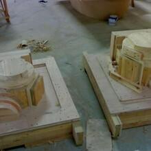 淄博鑄造木模加工中心做木模模具用的數控雕刻機價格圖片