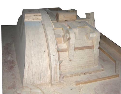 泡沫模型定制加工雕刻機EVA異形開槽雕刻機