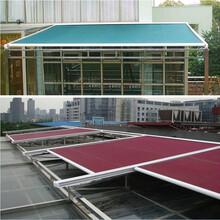 北京厂家定制阳台遮阳篷雨篷曲臂式伸缩篷雨棚遮阳蓬