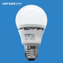 优质led球泡灯3w5w7wled筒灯射灯台灯光源