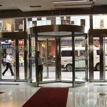 广东专业安装自动玻璃门旋转门维修更换工程