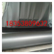 宜宾市hdpe土工膜光面美标黑色幅宽6米厚度2mm一件300平米厂家批发价格