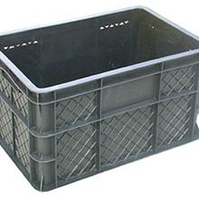 塑料箱物流箱带盖周转箱加厚斜插式物流箱工具箱X8-480×320×265