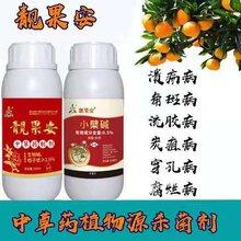 用于芒果角斑流胶病的杀菌剂中西搭配靓果安松脂酸铜