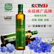 金谷金牧冷压榨亚麻籽油500ml瓶装央视推广品牌