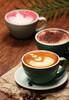 初学者咖啡拉花技巧郑州专业咖啡课程培训