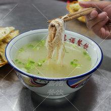母鸡汤泡饼技术培训,油饼母鸡汤泡饼制作方法培训图片