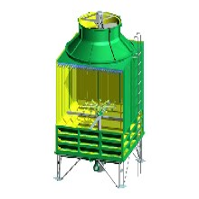 方形玻璃钢冷却塔-方形冷却塔价格-方形冷却塔报价