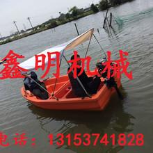 省油汽油船挂机船尾推进器鑫明直销大马力舷外机渔船挂桨机性能图片
