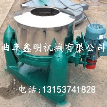 不锈钢25公斤米浆脱水机型号黑龙江三足离心式甩干机生产厂家图片