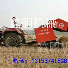 山东小麦秸秆打捆机秸秆捡拾打捆机性能自走式打捆机批发价图片