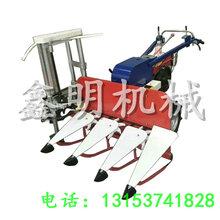 河南小麦秸秆扎捆机手扶麦?#38742;?#25414;一体机促销自动收获收割打捆机价格优惠图片