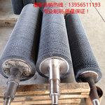 高密度纤维水泥板表面抛光碳化硅磨料丝毛刷辊耐酸碱磨料丝毛刷辊