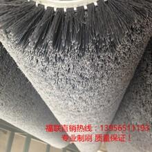 新型水泥板表面抛光毛刷辊-玉石抛光辊刷