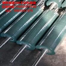 PCB电路板研磨不织布辊刷-镀锌钢板白锈研磨不织布辊刷