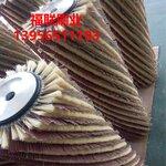 木门底漆抛光砂光机毛刷辊剑麻砂纸抛光毛刷辊铝合金盘刷