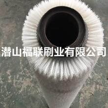 厂家定做钢板除油耐酸碱毛刷辊高强度抗氧化尼龙丝毛刷辊